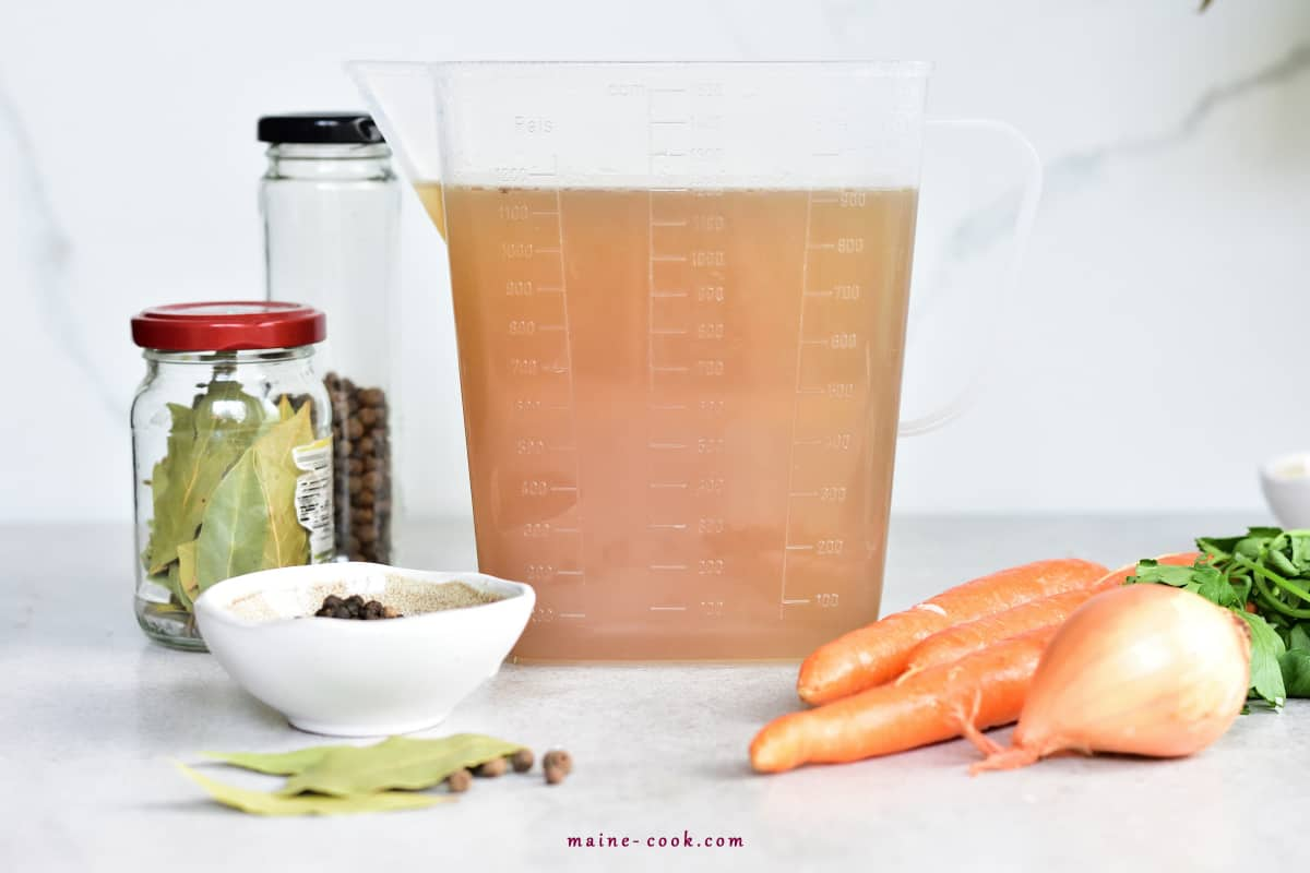 Bulion Przepis na bulion How to make homemade vegetable or chicken stock