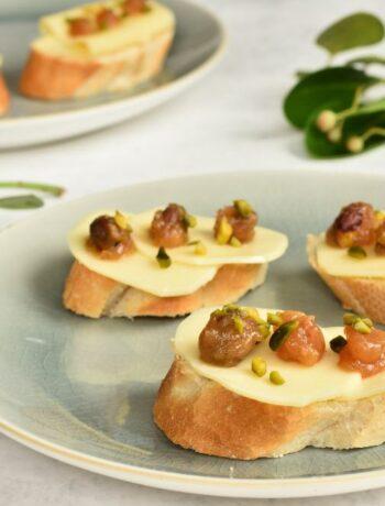 Dżem do sera z jabłkami, pistacjami i cynamonem jam with apples pistachios and cinnamon apfel pistazien und zimt marmolade zu käse