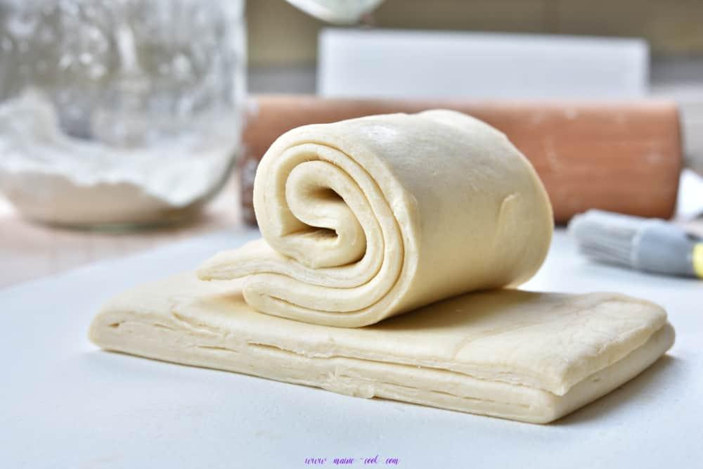 ciasto francuskie krok po kroku puff pastry step by step
