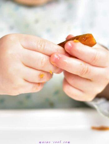 pieczone frytki warzywne dla dzieci (rozszerzanie diety) baked veggie fries for babys (complementary feeding)