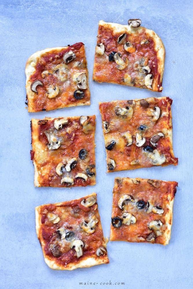 ciasto na pizzę bez wyrabiania no-knead pizza dough