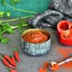 przepis na domową pastę harissa homemade harissa paste www.maine-cook.com
