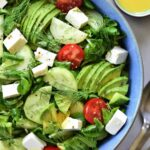 cucumber avocado tomato salad