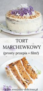 tort marchewkowy pin